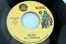 Bill Jennings: Big Boy / What's New   [Unplayed Copy]