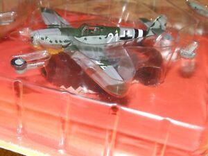Messerschmitt Bf 109g Luftwaffe IV/JG 4 Franz Wienhusen diecast IXO 1:72 metal
