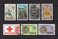 1963 Queen Elizabeth II SG43 to SG49 3 issues Used RHODESIA & NYASALAND