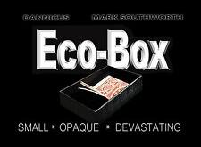 ECO_BOX (Black) by Hand Crafted Miracles & Mark Southworth - Magic Tricks
