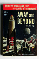 AWAY and BEYOND AE Van Vogt Science Fiction PaperBack Avon 548 1stP 1953 LNew
