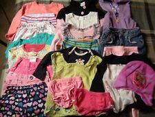 Lot of 22 pieces, girls 18 months clothing outfits.