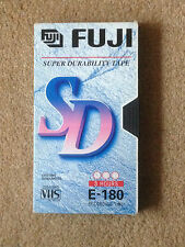 Fuji E180 Blank VHS Tape-Used Condition