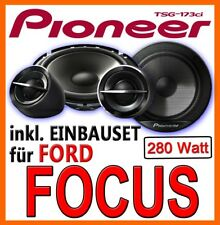 Pioneer Speakers for Ford Focus MK2 REAR DOOR 16cm Boxing Car Installation Kit