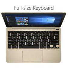 "NEW ASUS E200HA-UB02-GD Laptop Notebook PC Gold Office 365 11.6"" Light 32GB"