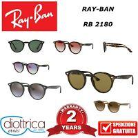 RAYBAN RAY-BAN RB 2180 OCCHIALE DA SOLE UOMO DONNA POLARIZZATO POLAR ROTONDI