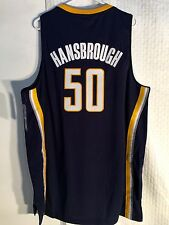 Adidas Swingman NBA Jersey INDIANA Pacers Tyler Hansbrough Navy sz XL