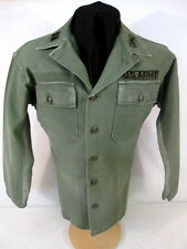 Vietnam Era US Army Sateen OG-107 Pattern 58 Utility Shirt Sz 14.5 x 31 - Early