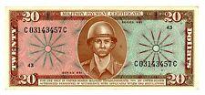 United States MPC ... P-M82 ... 20 Dollars ... Serie 681(1969-70) ... *Ch XF-AU*