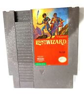 ****Legacy of the Wizard ORIGINAL NINTENDO NES GAME Tested WORKING & Authentic!