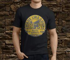 New Cool Royal Enfield Made like Gun Motorcycle Men's T-shirt Size S-3XL