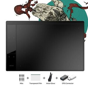 VEIKK A30 V2 Drawing Tablet,10x6 Inch Digital Graphics Tablet with 8192 Level...