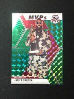 JAMES HARDEN MVP 2019-20 PANINI MOSAIC Basketball Green Prizm Houston Rockets