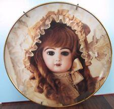 Portrait of COLETTE Hanau Doll Museum Franklin Mint Collector Plate