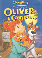 Oliver e Company - Disney DVD - Ologramma Tondo Sul Dorso