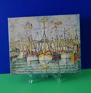 The Blessing Of The Fishing Fleet Springbok Jigsaw Puzzle 500 Pcs Paul Signac