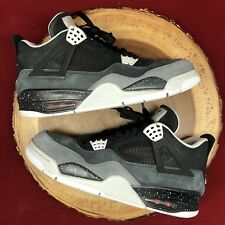 Nike Air Jordan Retro IV Fear Cool Grey Oreo Size 12 626969 030 Bred XI XII I VI