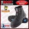 Steel Blue 'Argyle' 312102 Work Boots In Black. Steel Toe Cap Safety. UPDATE.