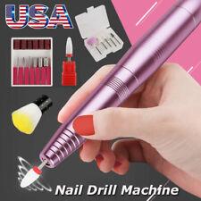 Electric File Pen Shape Nail Manicure Pedicure Drill Acrylic Remover Tool Lc2205