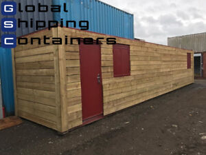 40ft x 8ft Workshop, Shipping Container (Bury Area)