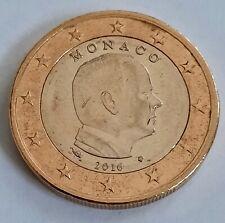 1 euro Monaco 2016