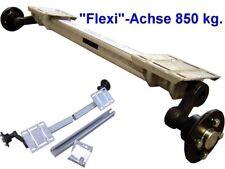 Anhängerachse - verstellbare Laufachse für Anhänger -Flexi - Achse 850 kg. 5*112