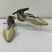 Boden Flats Size 42 (US 12) Demi Lace Up Florence D'Orsay Pointed Toe Sandals