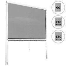 Moustiquaire plissé pour fenêtre aluminium protection insectes enroulabe