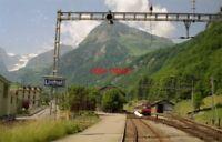 PHOTO  SWITZERLAND LINTHAL 1995 SBB