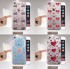 Cubierta para ,IPHONE,Transparente,Silicone,Suave,Amor,Flores,Divertido,Colores
