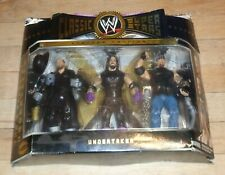2005 WWE Jakks 3 Faces of Undertaker Classic Wrestling Figures MOC Limited