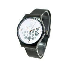 Energetix 4you 2522 Premium Energy Watch Power Hearts schwarz Magnet Armbanduhr