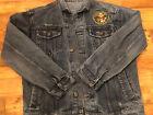 US Army Danbury Mint Jean Jacket Patriotic American Military Large