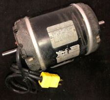 MONTGOMERY-ward Dual Shaft Reversible Motor 1/2 HP 115 V 1725 RPM Model 74DP4551