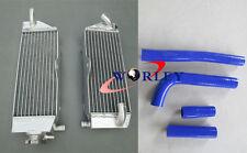 Aluminum Radiator & hose for YAMAHA YZ400F YZF400 YZ 400 F 1998 1999 2000 98
