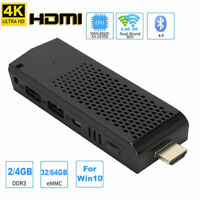 Mini PC Computer Stick Intel Atom Z8350 4K WiFi 2/4GB RAM 32/64GB eMMc for Win10
