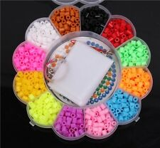 1 Set 1200pcs Perler / Hama Beads Puzzle For Kids GREAT Fun Chic -LA