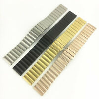 Stainless Steel Metal Solid Bracelet Replacement Watch Strap Band Wrist 16-22mm