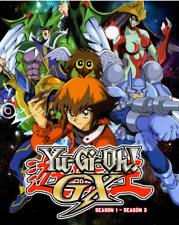 DVD ~  Yu-Gi-oh ! GX Complete Series ( Seasons 1 2 3 ) ~ English Dubbed