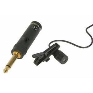 QTX Tie Clip Uni Directional Microphone