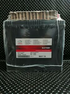GENUINE LEXUS IS300H 12V BATTERY 45AH AUXILIARY BATTERY 28800-YZZQX S46B24L