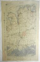 Camp Mills Long Island Queens Hempstead NY 1918 Aviation fields old topo chart