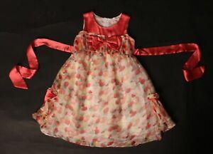 Kinderkleid Kleid Mädchen Rosa Kelly  Gr. 104 Fest Tanzkleid Festliche Kleidung