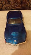 Blue 1968 Corvette 1/24th Scale Made In China
