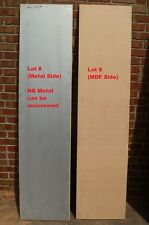Six (6) New Solid Timber Bi-Fold French Doors (2180mm x 510mm x 40mm)
