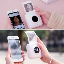 Portable Wireless Mini Pocket Printer Bluetooth 4.0 Photo Printer Fr Android ios