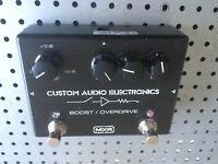MXR® CUSTOM AUDIO ELECTRONICS (CAE) BOOST/OVERDRIVE MC402