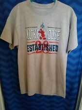 Mickey Mouse Gray Shirt with Red/White/Blue Size M