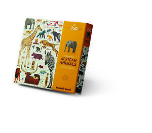 Crocodile Creek - World of African Animals 750pc Puzzle