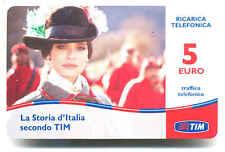 GARIBALDI RICARICA TIM LA STORIA D'ITALIA SPOT PROMO TELEVISIVO